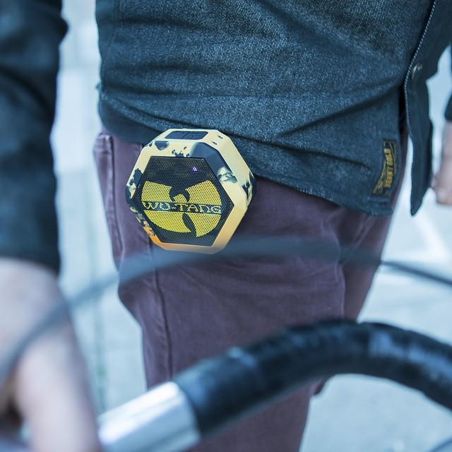 "#WUTANG Round 2 hosts a new design and an #exclusive track ""We Will Fight"" from the recently released album #ABetterTomorrow. Available at #Zumiez, your local bike shop and online at #Boombotix #Dotcom"