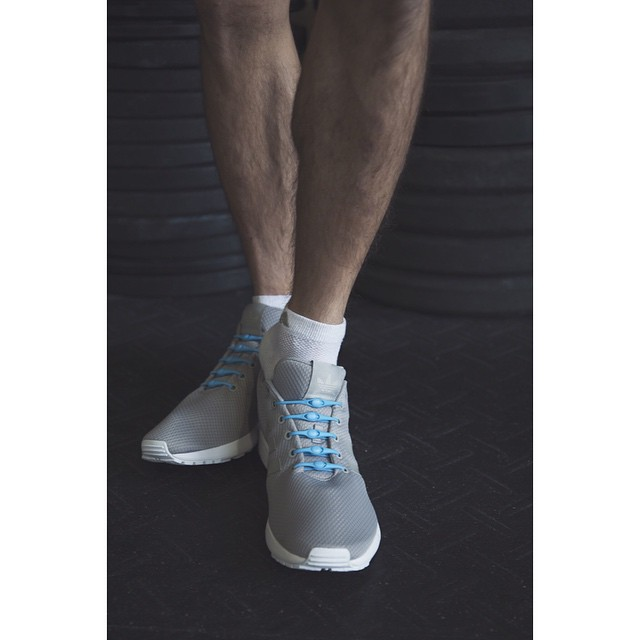 Slip on, slip off. It's that easy. #lacesoutHICKIESin #zxflux #crossfit