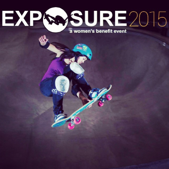 2015 EXPOSURE #calendars are still available! Celebrate #skateboarding with a different #skatergirl every month. Check them out through the link in our bio.