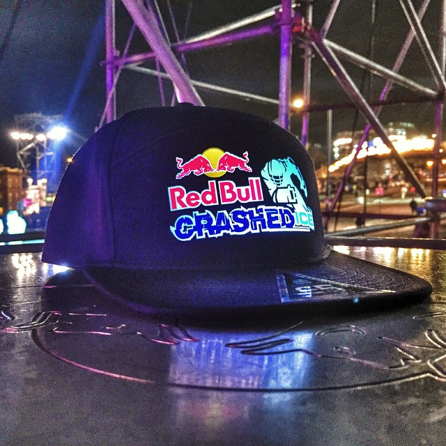 Thank you for having us @RedBull Crashed Ice! #custom #lumativ #redbull