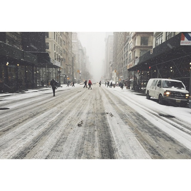 It might not have been historic, but it made our city look great. #Juno #nyc