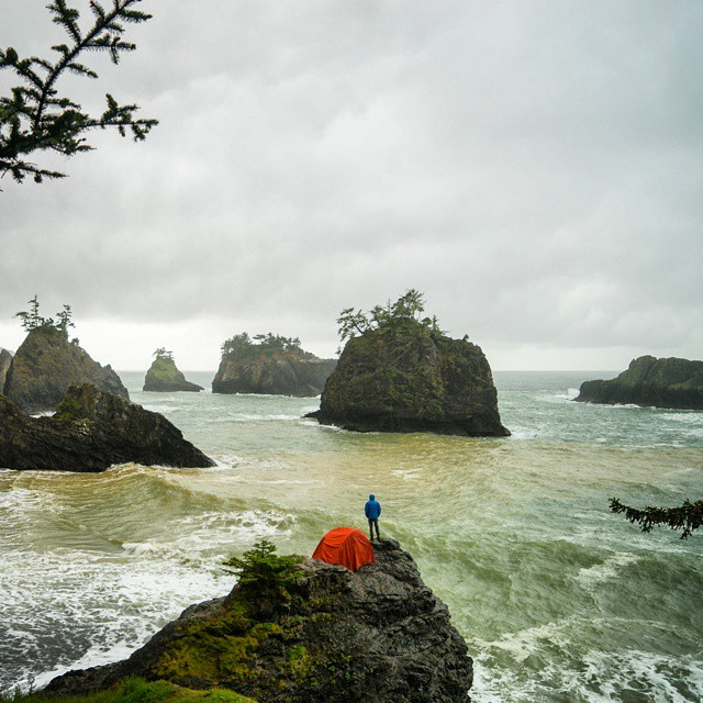 Camp everywhere. #GetOutStayOut  Photo: @chrisburkard