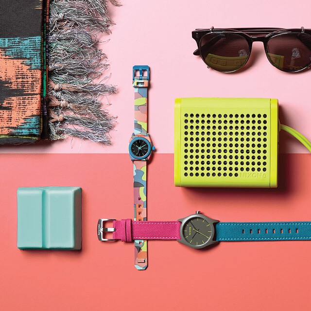 Sea of color.  Unabashed and awash in a mix of brights and bolds, the Neo Preen collection forges on sport, fun and style; take your pick.  Introducing the Neo Preen collection, now available from Nixon. Shop the full collection on nixon.com (link in...