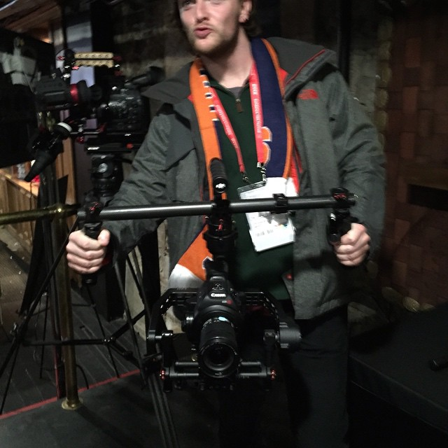 The #DJI #Ronin being trialed at #sundance by filmmakers. Which movie will use the Ronin?  www.dji.com/ronin