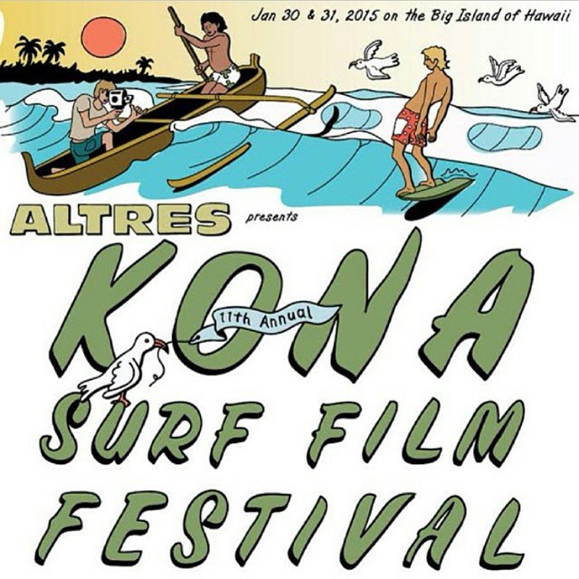 "See you all at the Kona Surf Film Festival at King Kameamea Hotel in Kona this wkend!  Screening ""Wild Child: The Path to Naked and Afraid"" Sat night the 31st!!! Starts 5pm and film is at 7pm  It's a beautiful venue outdoors on the ocean with epic live..."