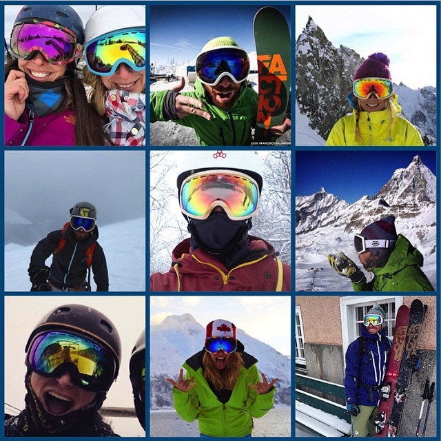 Check out the many faces of @boskyoptics! We are super stoked on their environmentally friendly good looking goggles, grab yourself pair in the GoodPeople Marketplace: www.GoodPeople.com/us/bosky-optics #gobigdogood #goodpeople #goodpeoplelife...