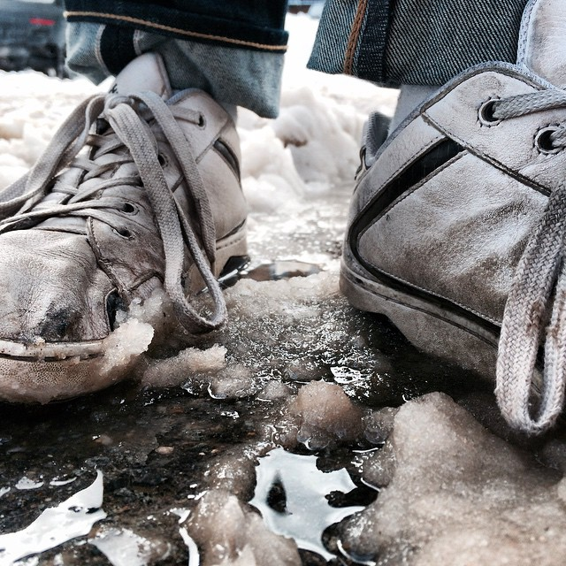 Tired of your shoes? Boston is digging out and we thought it was a great contest opportunity. Tag @forsakeco and #ineedforsakes on photos showing how bad your old shoes are in the next 48 hours and we will give the person in worst shape a free pair!...