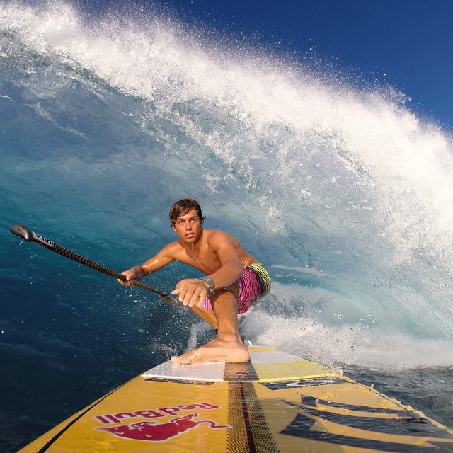 From Maui to Maldives, travel the globe with @kai_lenny as he chases the perfect wave in the new film, The SUP Movie. Visit gopro.com/news for full details.
