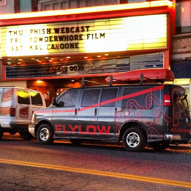 Who's ready for the @powderwhores #elevation first stop #frontrange #denver #orientaltheater