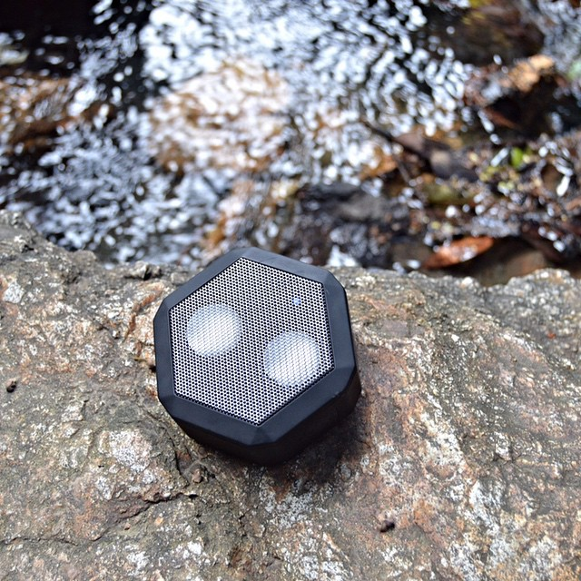 "20 bucks off this Pitch Black #Boombotix REX when you use code ""WUWEDNESDAY"" at checkout #soundmatters"