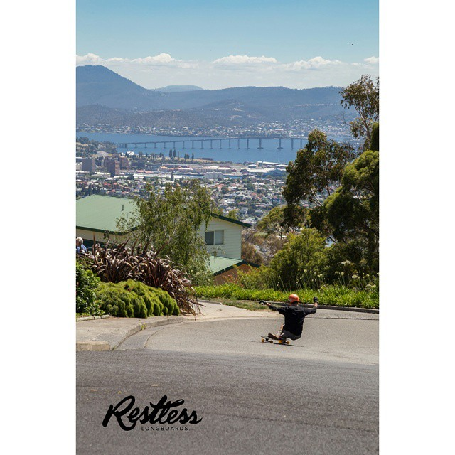 Enjoying the view! #hobart #restlessconcorde  Photo by @chatelierr