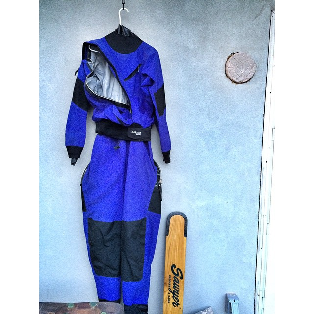 Selling my Kokatat Watersports Wear Drysuit!  It's a women's size Large, frontal entry drysuit with additional rear zip and built in Goretex booties. Selling for the FIRM price of $400.  It's good to go, no leaks, excellent zippers, and new gaskets for...