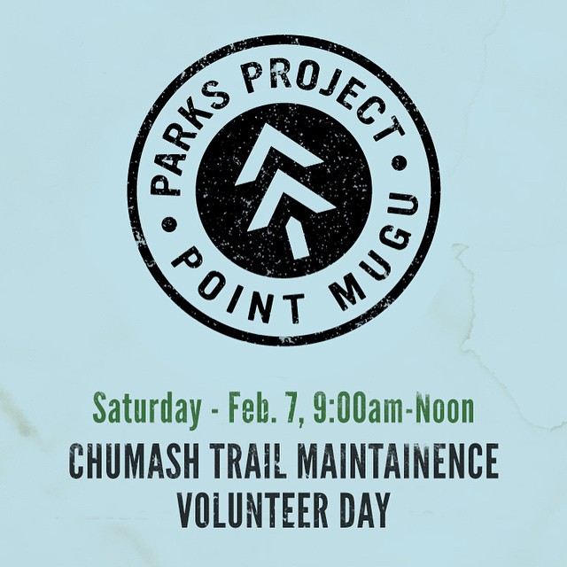 Point Mugu State Park is closed until February 1, 2015 because of the damage done by the most recent storms. It's a mess out there, so we're going to help clean it up. We'll be doing trail maintenance with the National Park Service and the Santa Monica...
