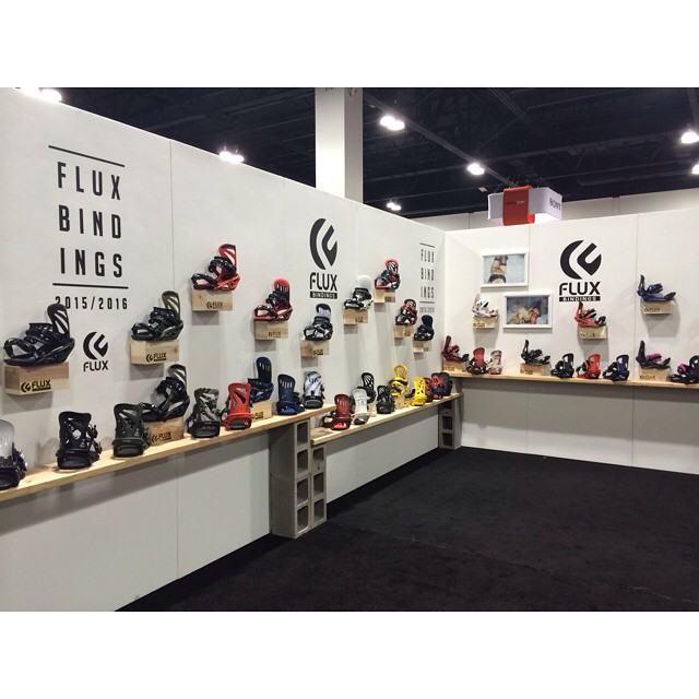 Flux Bindings is showing the new 2015/16 line at SIA in Denver. If you happen to be at the show stop by booth #1469. If not, here is a sneak peak! ❄️