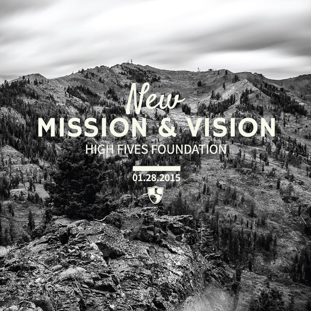 View & share our new NEW mission & vision video! | Link in bio | #highfivesathlete