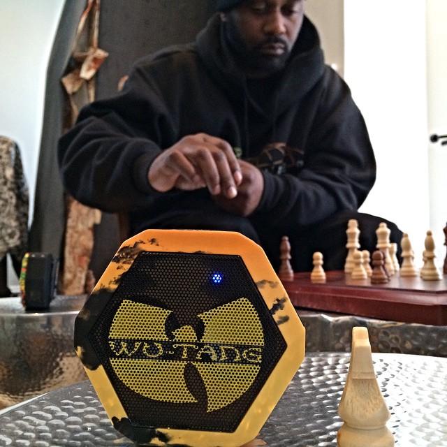 Chess match against Masta Killa #wutang #slumsofshaolin #protectyaneck