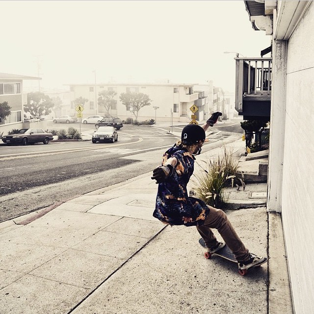 Foggy sesh in SoCal with @laurent_perigault like a G #keepitholesom