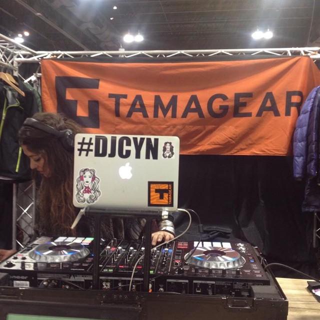 #TAMAGEAR #SIA15 #SKIGRACE #DJ_CYN