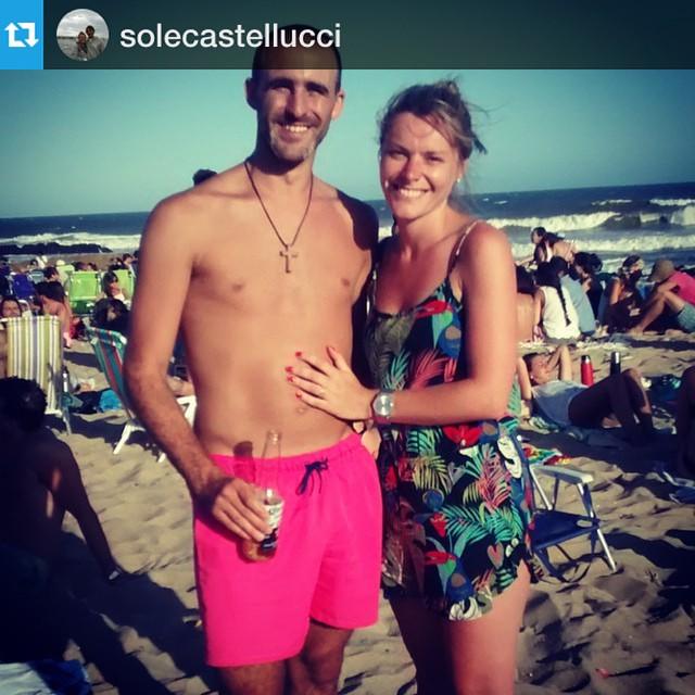 #Repost @solecastellucci with @repostapp.・・・Disfrutando los últimos días  #LaPedrera #uruguay #borna @somosborna