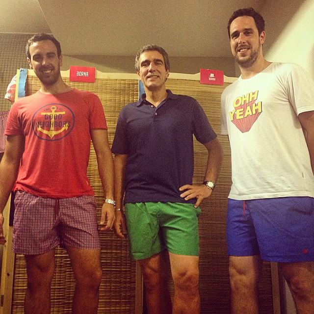 La famiglia unita con sus Borna. #borna #trajesdebaño #summer #swimwear #shorts #swimsuit #verano