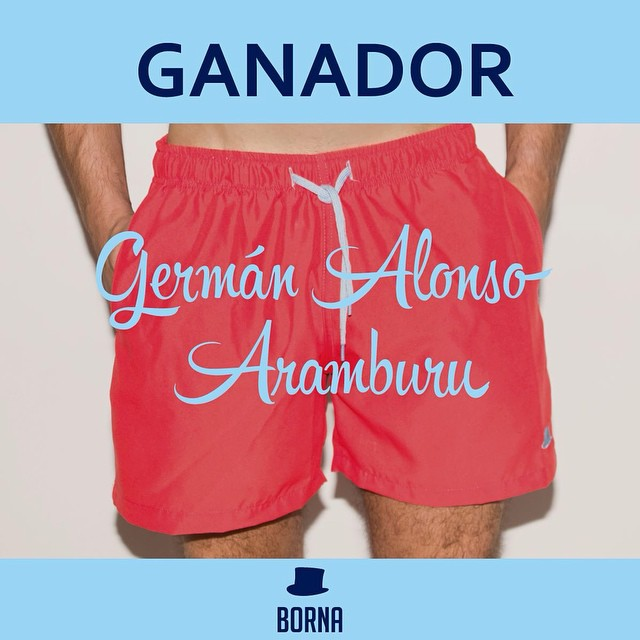 Ganador del sorteo: GERMÁN ALONSO ARAMBURU!