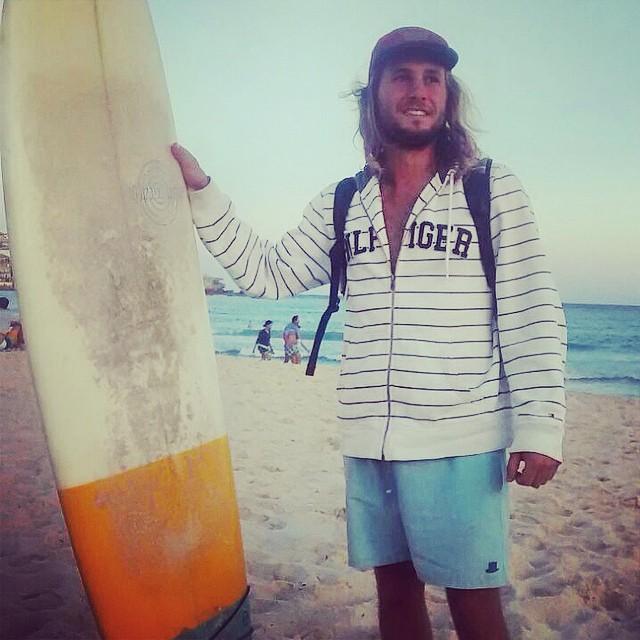 Un poco de Surf en Australia. #borna #australia #bondibeach #beach #trajesdebaño #swimwear #swimsuit #shorts #summer #verano #surf