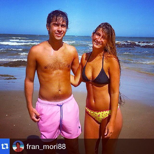 #Repost @fran_mori88 with @repostapp.・・・Con Titi #playa #playabrava #pde ☀#Borna #swimwear #shorts #summer #verano #rovigo #trajesdebaño #beach