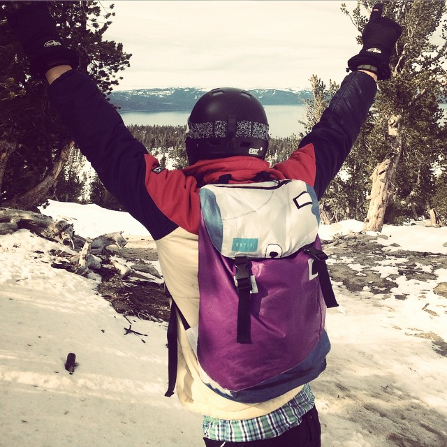#French #snowboarding Team in Tahoe // #discoverpack #mafiajoy #snow #winter #snowboard