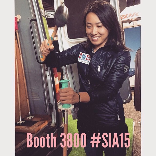 Build your own #BambooSkiPoles at the @soulpoles booth today at #SIA15 // Renewable. Durable. Beautiful. | Build your own #BambooSkiPoles at the @soulpoles booth today at #SIA15 // Renewable. Durable. Beautiful. | #plantyoursoul