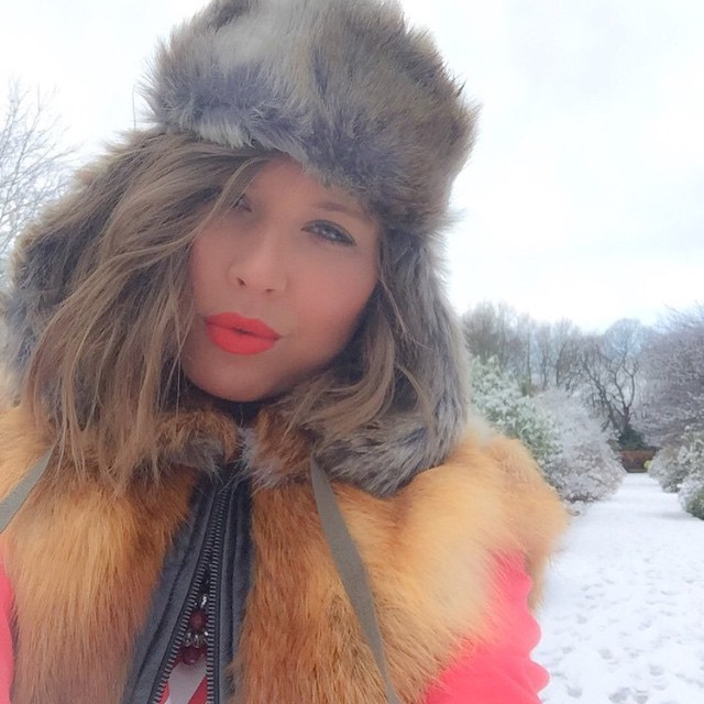 The #kangol tagged Instagram photo of the week is from @irenadworld ❄️⛄️