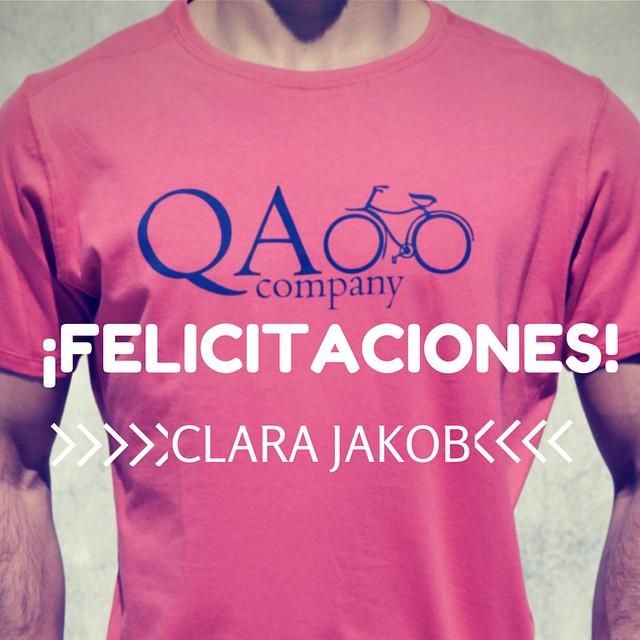 ¡Felicitaciones @clarijakob ! Gracias a todos por participar del concurso. www.QA.com.ar #QuiénSabedeActitud