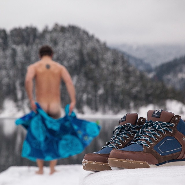 Awesome, Zach (@therealzachd). Great way to #getoutthere and enjoy the weekend! Check out the whole frozen plunge at experience.forsake.com.