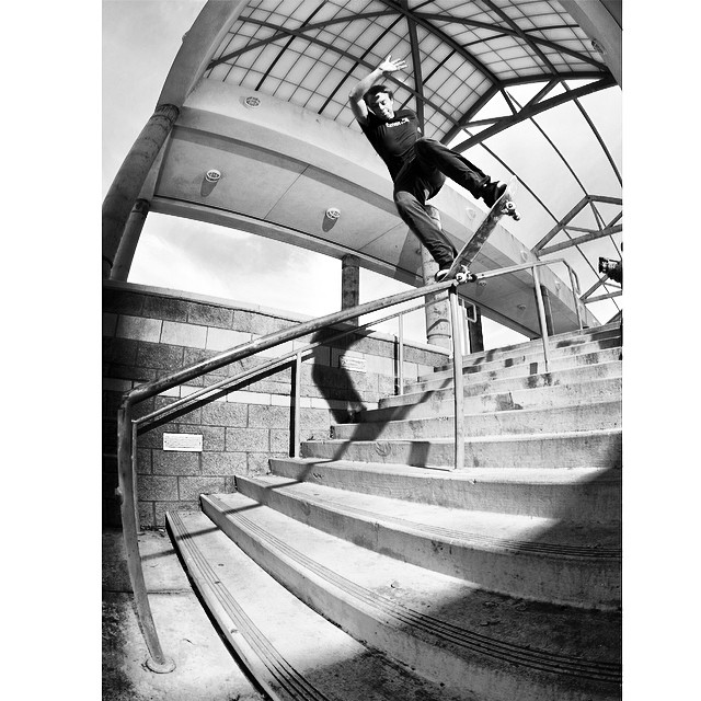 @mattbeaton with a proper noseblunt in #issue33 #steezmagazine shot by @muchnikphoto #noseblunt #skateboarding #mattbeaton