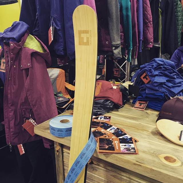 Win a pair of @graceskis, stop by booth 1034 to enter.  #SIA #SIA15