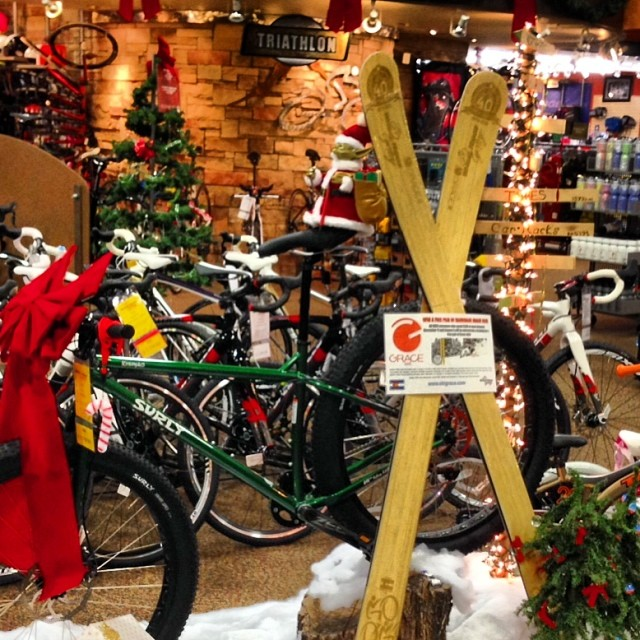 Wheat ridge cycles 40th birthday!  Nice display!
