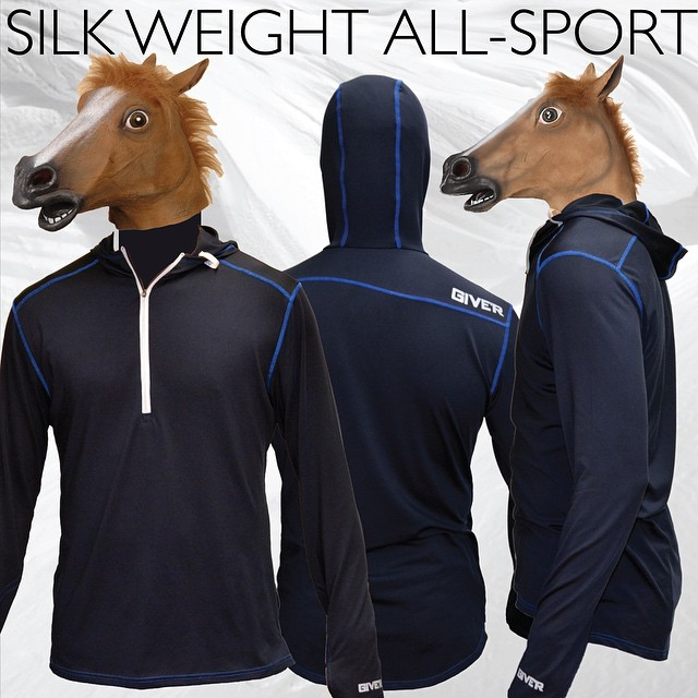 QUIT HORSING AROUND, Get yourself the new Silk Weight All-Sport layer! Available online. #beatingadeadhorse