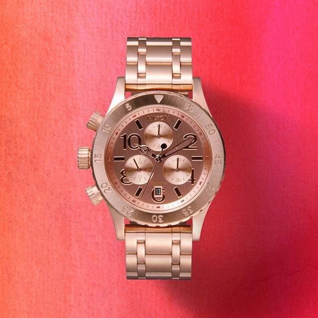 Give that special someone something as unique as they are.  The 38-20 Chrono featured in the new Nixon Valentine's Day Gift Guide.  Get gifting now with free shipping both ways on nixon.com (link in bio: @nixon_now). #3820chrono #nixonvdaygifts #nixon