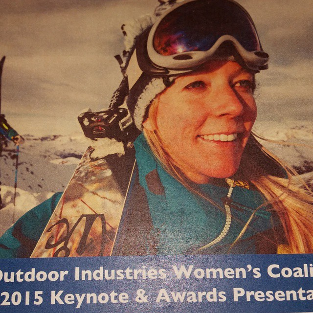 """@oiwc keynote CEO of Icelantic #skis. """"Be the f@$king wolf. You need to be gentle with yourself, but business is a competition and you have to have to be fierce"""" #sia15"""