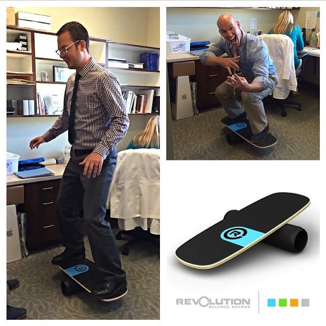 Thanks again to @theneuroclinic to rocking out our balance board in their office!