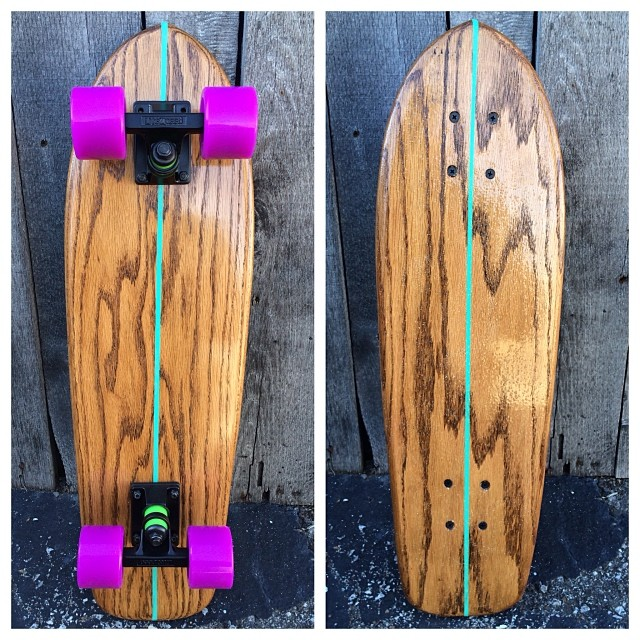 There is no filter on this pic of another beautiful cruiser. The Woodgrain speaks for itself.