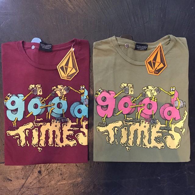Good times Tee #SS15 estamos liquidando! Te esperamos! #SALE #40% #Summer #Volcom