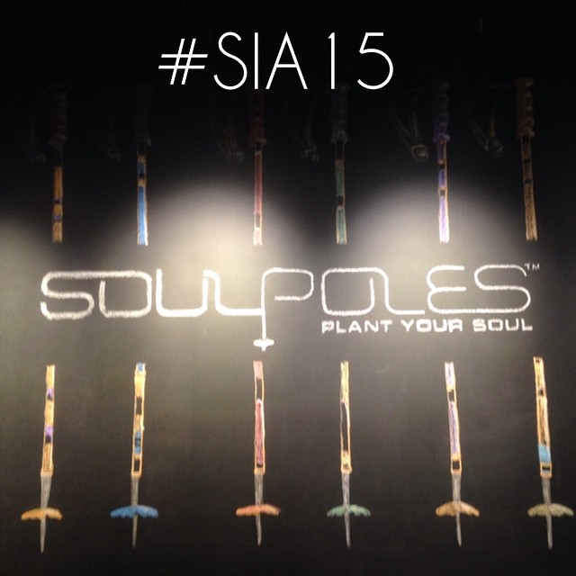 Come by the Soul Booth and get down on the #SIA15 show special // #plantyoursoul #BambooSkiPoles
