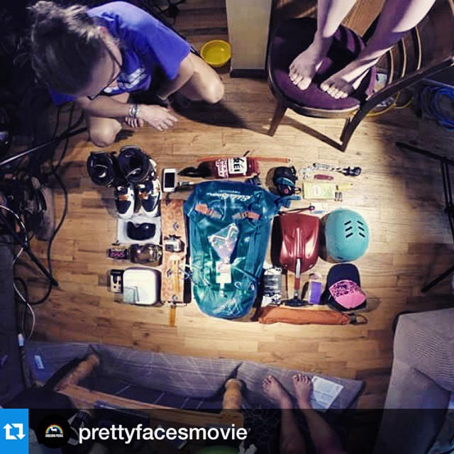 Don't miss @prettyfacesmovie showing @backcountryexperience @siasnowsports today at noon! #prettyfacesmovie #lynseydyer ・・・