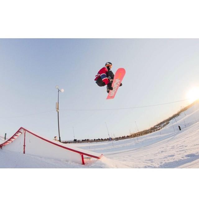 Team rider from #Minnesota @azizipflipsen❄️#FrostyHeadwear #Snowboarding #ElmCreek