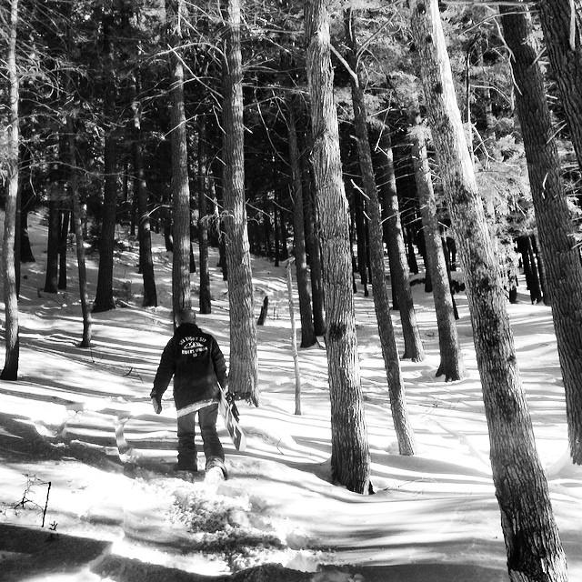 Awesome day in the trees at @attitashmountainresort #attitashmountain