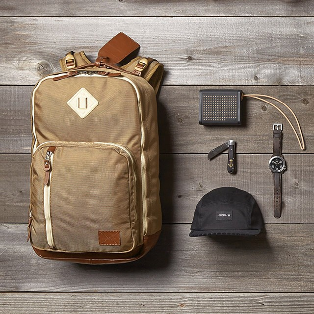 The essentials. Versatile and considered staples in any proper collection.  Welcome the Duraluxe collection bags, new from Nixon.  Shop this collection now with free shipping both ways on nixon.com (link in bio: @nixon_now). #nixonbags #miniblaster...