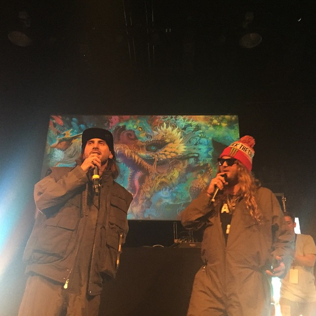 @dannykass & @thedingoinsnow MC'S of the century #snowdownsia LETS RAGE!