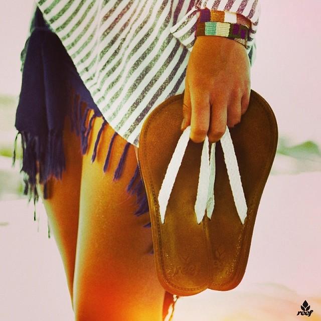 El calor nos sienta bien! #sandals #summer #reefargentina