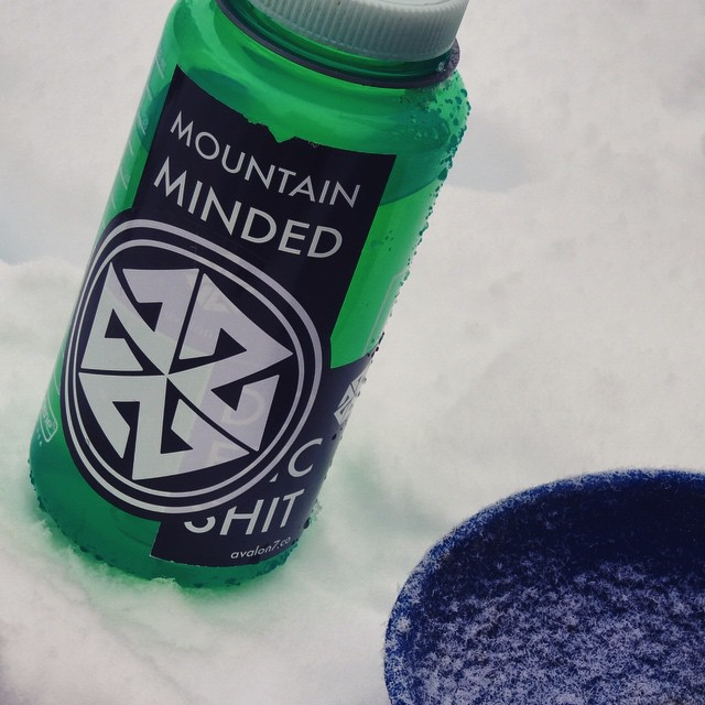 Mountain Minded.  New AV7 stickers just came in! Stoked on 'em! #avalon7 #mountainminded #snowboarding www.avalon7.co