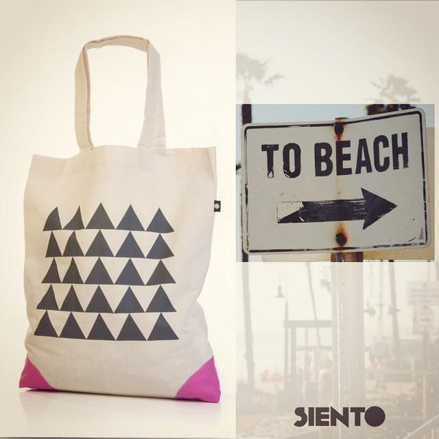 #beach #lifestyle & #sientobags